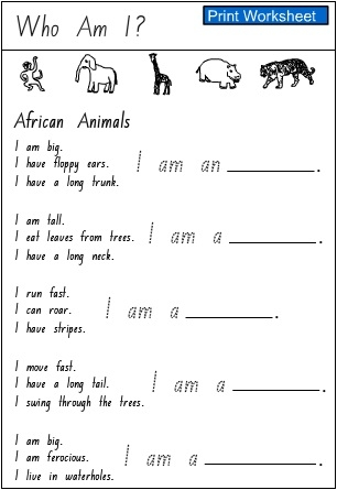 Who Am I Worksheet Activities Quotes