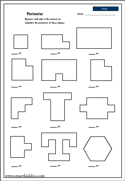 Which geometric shape is different worksheets amp activities - Finding Area And Perimeter Of Irregular Shapes Worksheets