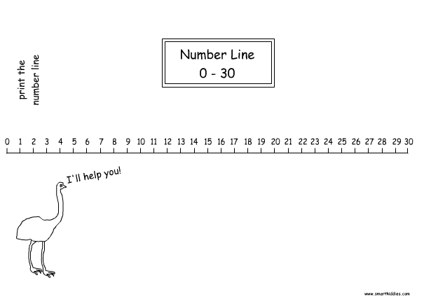 number line to 30 mathematics printable numbers print Teachers Pay Teachers Llama Teacher Pay Teacher Winter Clip Art