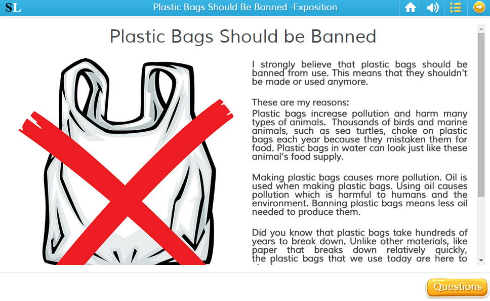Why Should We Not Ban Plastic Bags