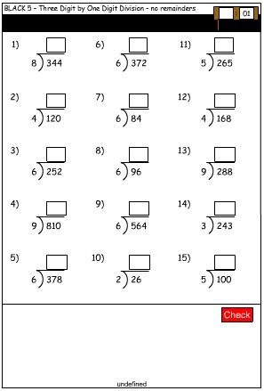 2 Digit By 3 Digit Division Worksheets No Remainders - long ...