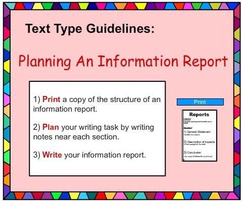 Writing a Report teaching resources - 10 slide powerpoint