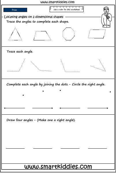 Drawing Angles Worksheet New Calendar Template Site