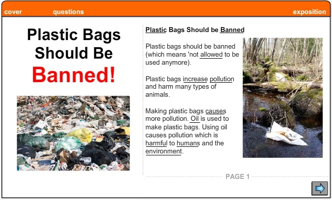 evils of plastic bags Utter evils or hostile accusations  plastic bag needs now on holdlive thanks for your outpouring of donations of the plastic bags.
