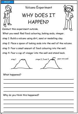 Worksheets Volcano Worksheets collection of free volcano worksheets sharebrowse for school beatlesblogcarnival