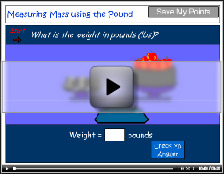 Measure using the pound tutorial