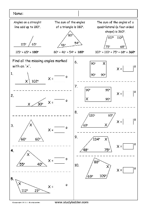 geometry problem solving ks2
