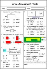 Area problem solving questions