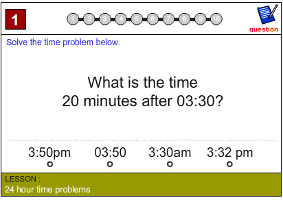 24 Hour Time Problems