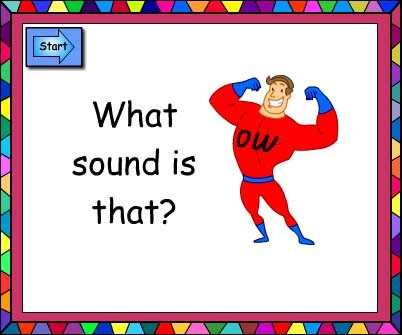 What Sound Is That? ow and ou