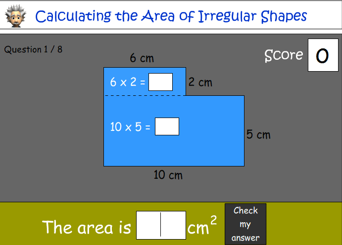Calculating the Area of Irregular Shapes