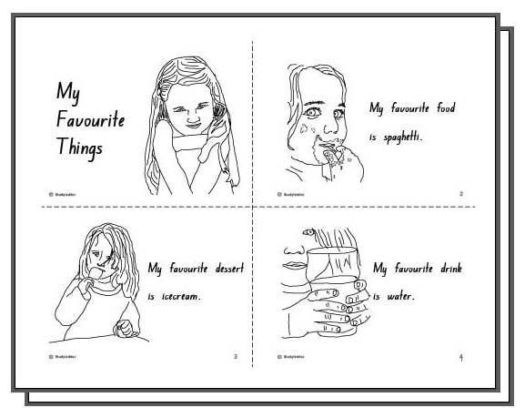 My Favourite Things Student Booklet English skills online – My Favorite Things Worksheet