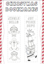 Christmas Bookmarks (1 page)