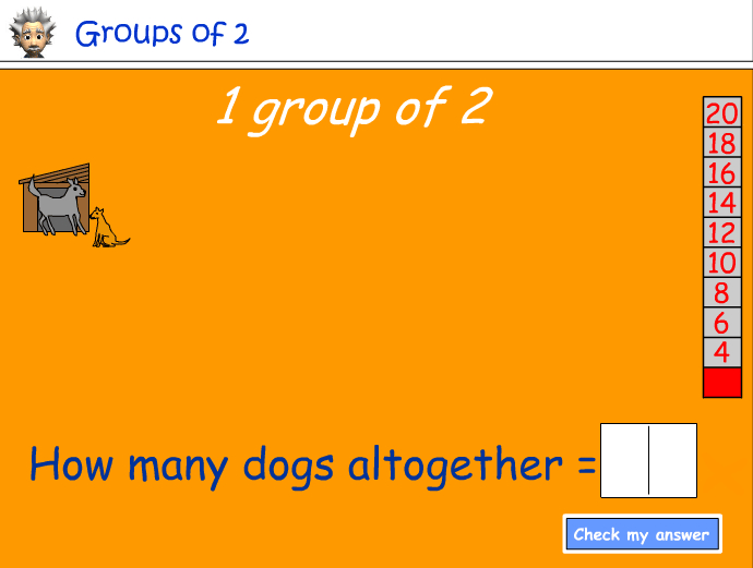 Groups of 2