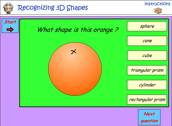 Naming 3D Objects - environmental Objects