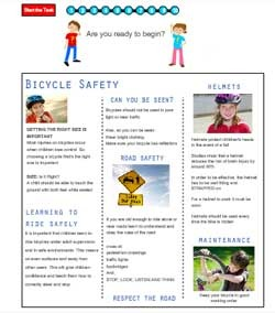 Bike Safety Poster - Questions