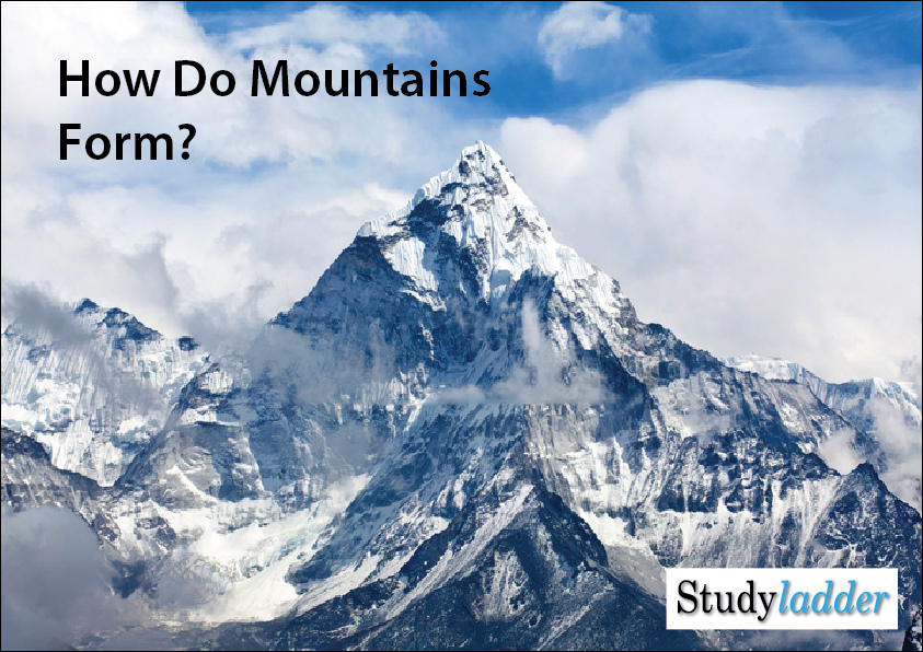 an analysis of the topic of the formation of the mountains So this collision leads to formation of big mountains with fragments of oceanic sediments in them even in the highest peaks (eg alps in europe, himalayas in asia) types of mountains: mountains can be classified into five different basic types based on the cause that formed the mountain, type of rocks, shape and placement on land.