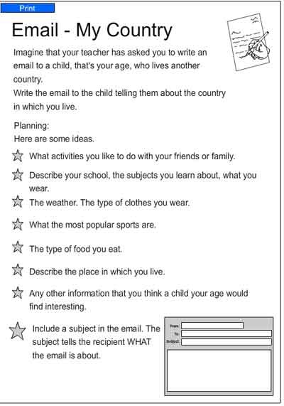 Write A Letter To Your Teacher Kids Activity