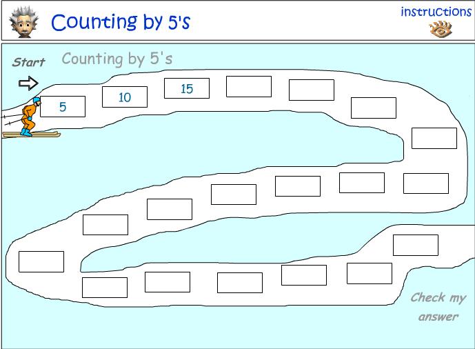 Downhill Ski Race