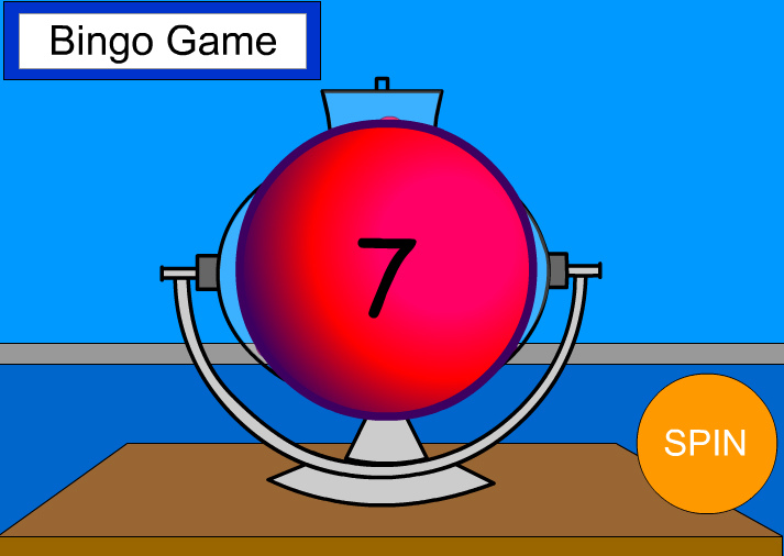 Bingo Machine - identifying numbers up to 30
