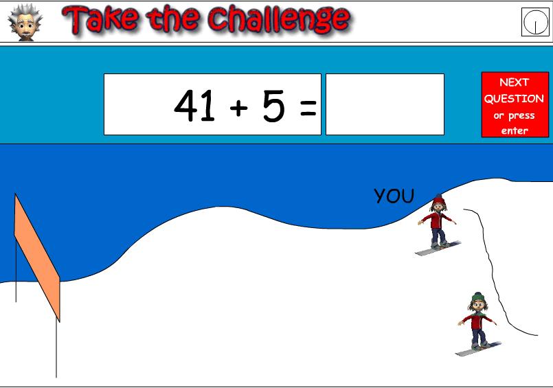 Snow Boarding Race