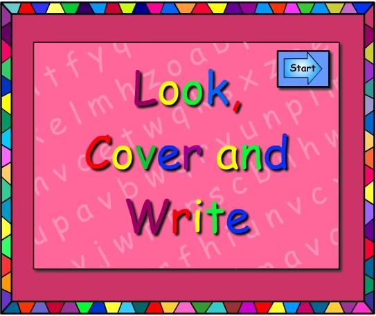ou and ow -Look Cover Write