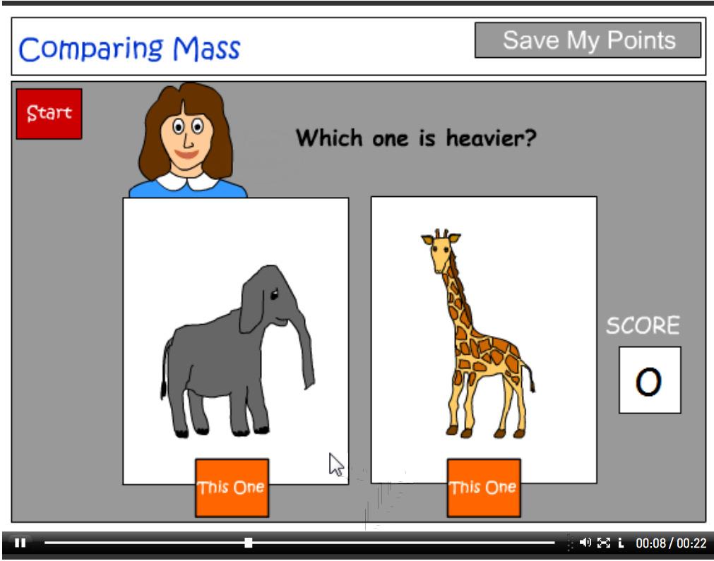 Language to describe mass tutorial
