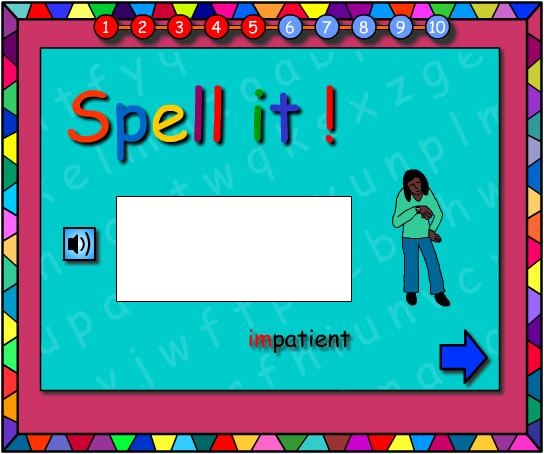 im and in -Let's Spell It