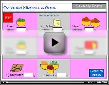 Convert kilograms to grams tutorial