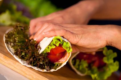 Salad Wraps