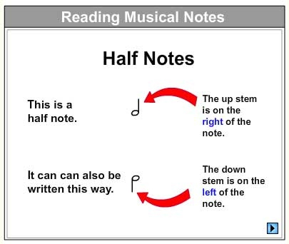Let's Learn About Half Notes