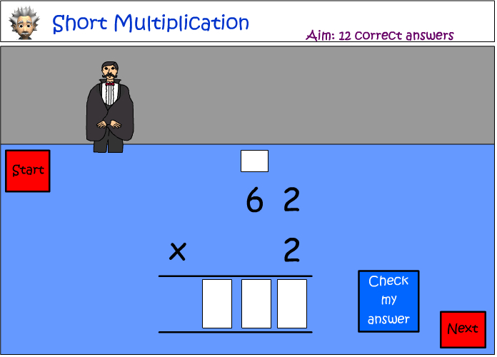 Short multiplication