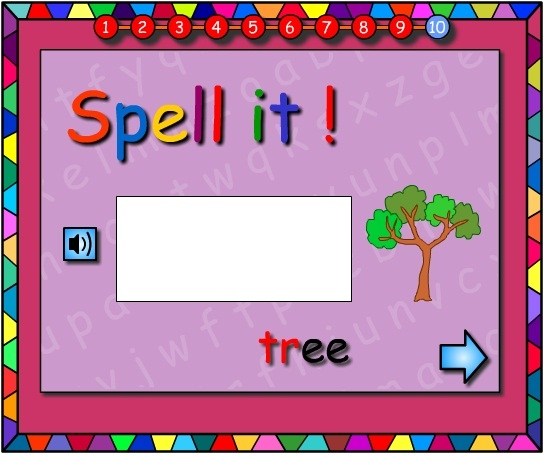 Twisting Trees -Let's Spell It