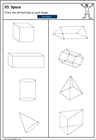 Drawing 3d Objects Mathematics Skills Online Interactive