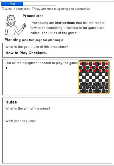 how to play checkers english skills online interactive activity lessons. Black Bedroom Furniture Sets. Home Design Ideas