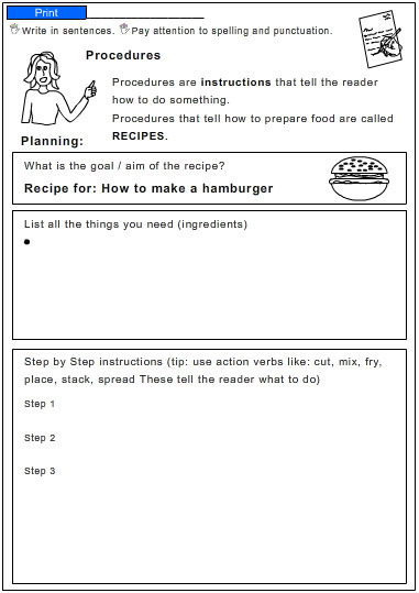 How to make a hamburger english skills online interactive activity how to make a hamburger ccuart Image collections