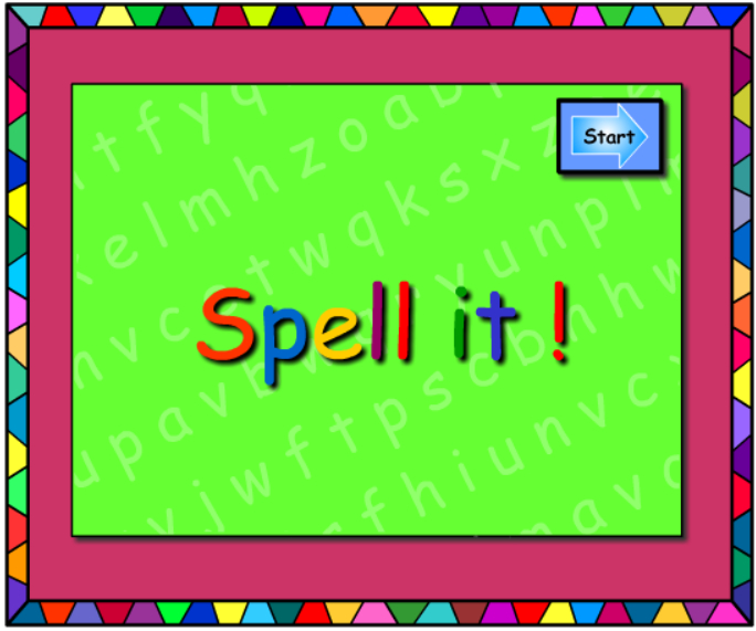Words - Let's Spell It