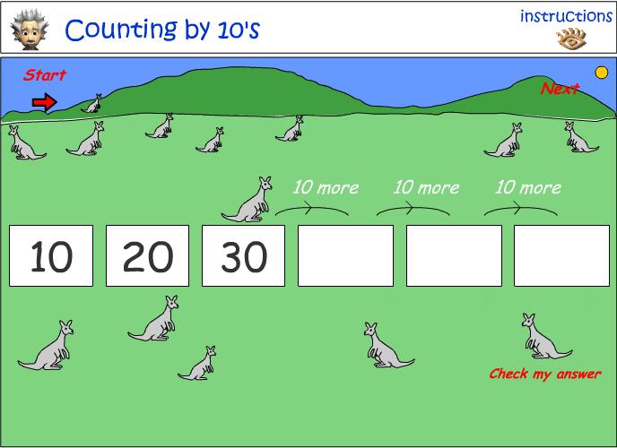 Kangaroos by 10
