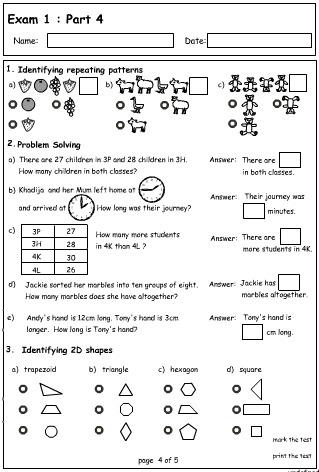 Exam 1 : Part 4