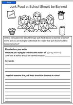 Literacy homework year 6