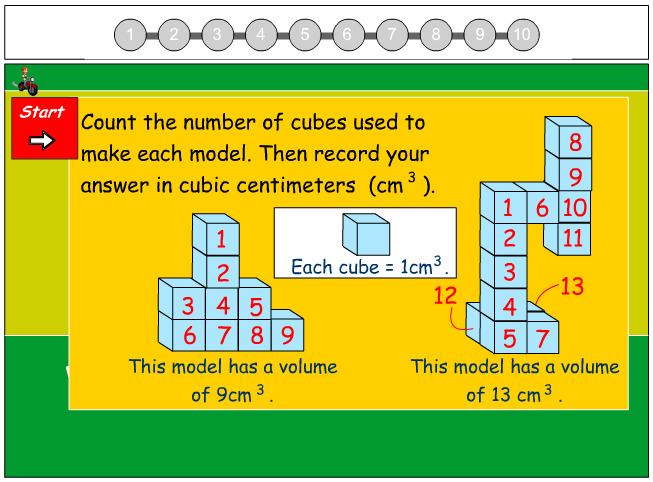Calculate the Volume of a Stack - Record in Cubic Centimeters
