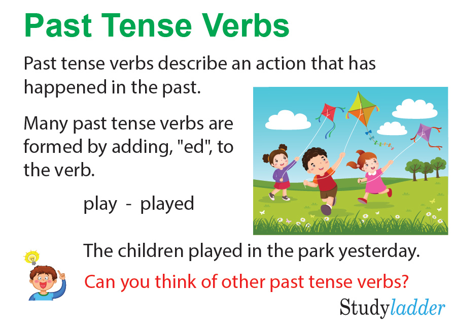 Past tense of verb study