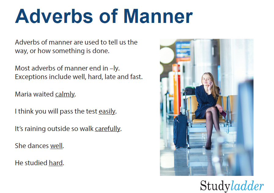 Adverbs Of Manner English Skills Online Interactive Activity Lessons