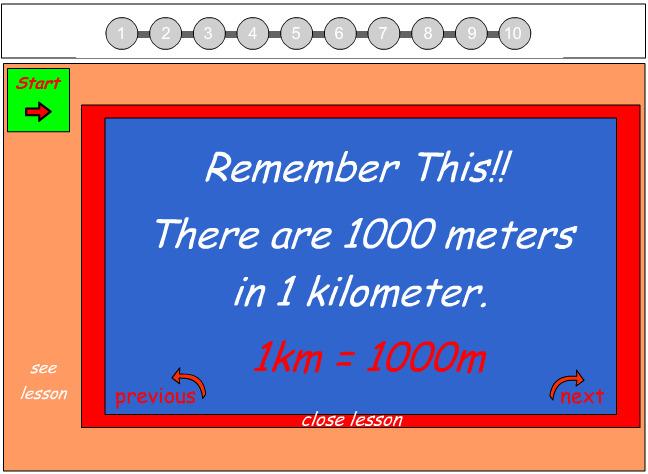 Converting between Metres and Kilomters