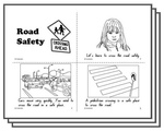 sun safety coloring pages - sun safety response activity sheets english skills