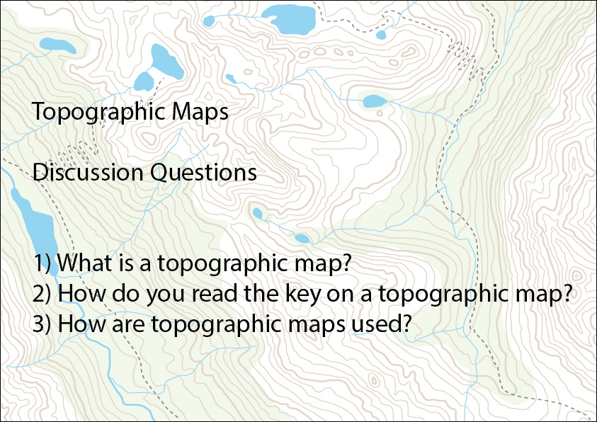Topographic Maps Slideshow Science Skills Online Interactive - Interactive topo map