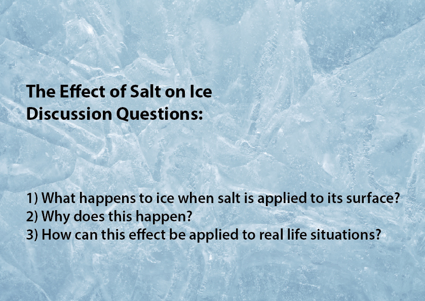 effects of salt on ice