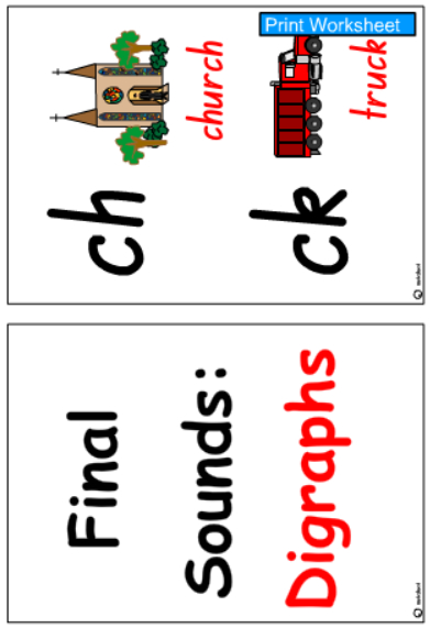 Final Digraphs Cards -Colour