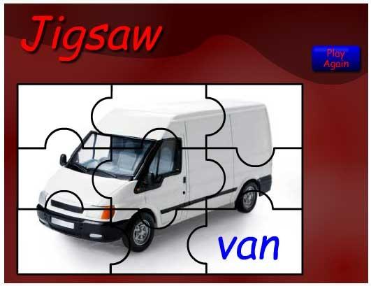 V is for Van