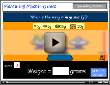 Measuring weight in grams (g) tutorial